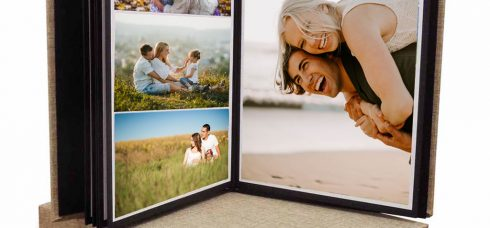 אלבומי הדבקה תמונות מעוצבים במבחר גדלים